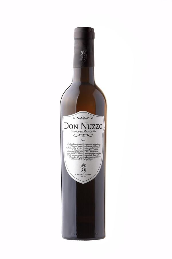Italian sweet wine Don Nuzzo Moscato - Cantine Gulino