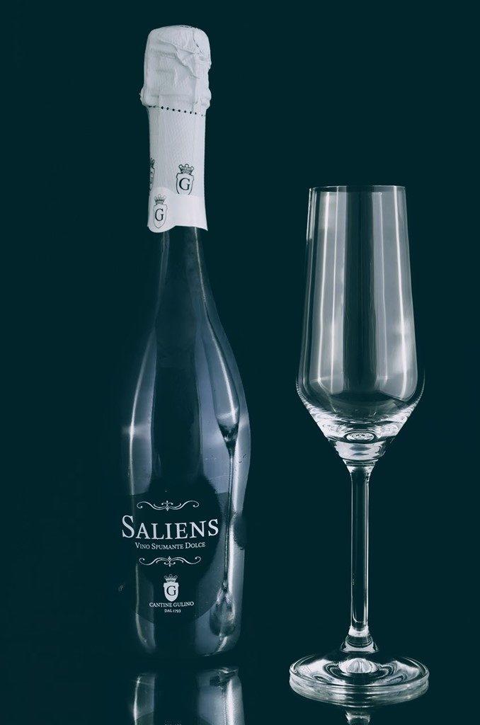 Sparkling italian wine Saliens - Cantine Gulino