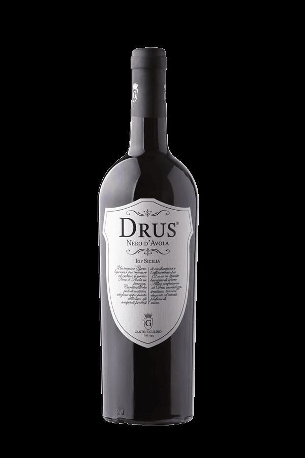 Vino rosso siciliano Drus - Cantine Gulino