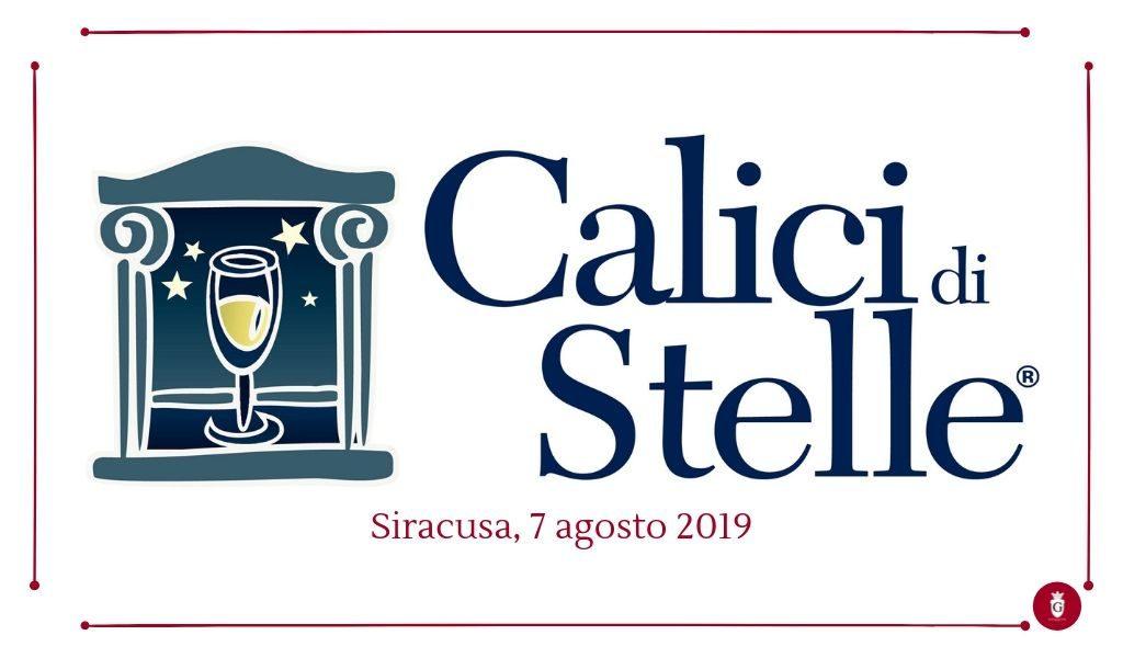 Calici di Stelle 2019 sorsi di Sicilia in un calice di vino - Cantine Gulino