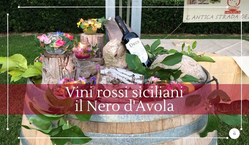 Vini rossi siciliani famosi il Nero d'Avola - Cantine Gulino