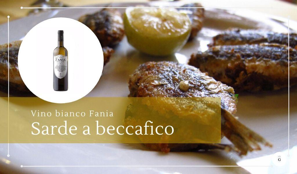 Vino bianco siciliano per pesce sarde a beccafico cosa abbiniamo - Cantine Gulino