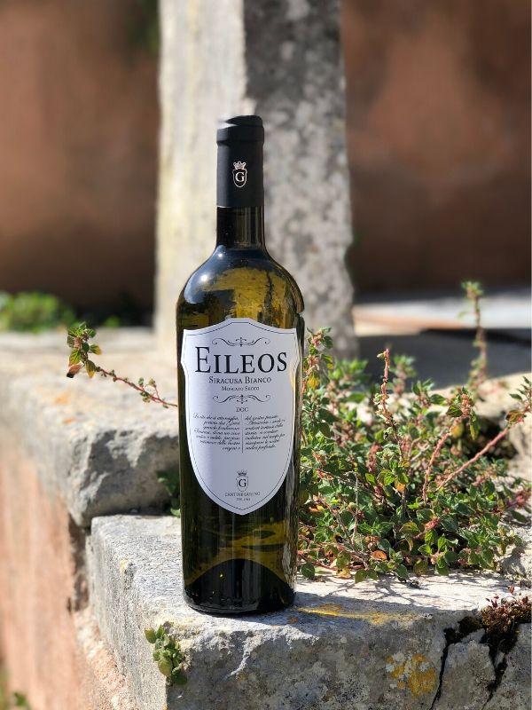 Eileos vino bianco moscato secco - Cantine Gulino