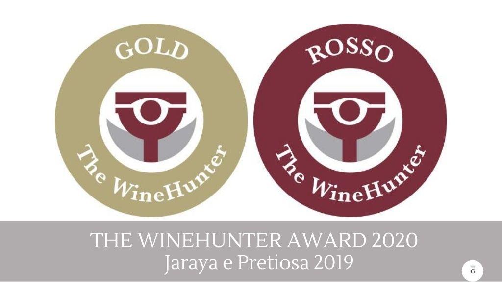 The WineHunter Award 2020- premiati Jaraya e Pretiosa - Cantine Gulino