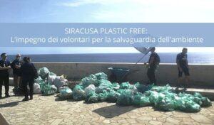 L'iniziativa di Plastic Free a Siracusa per la sostenibilità ambientale - Cantine Gulino
