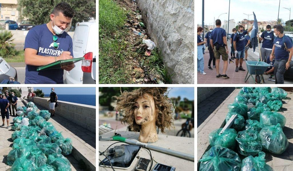 L'impegno dei volontari di Plastic free Siracusa per la sostenibilità ambientale - Cantine Gulino