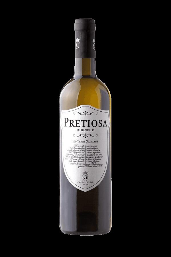 Vino bianco Albanello Pretiosa - Cantine Gulino