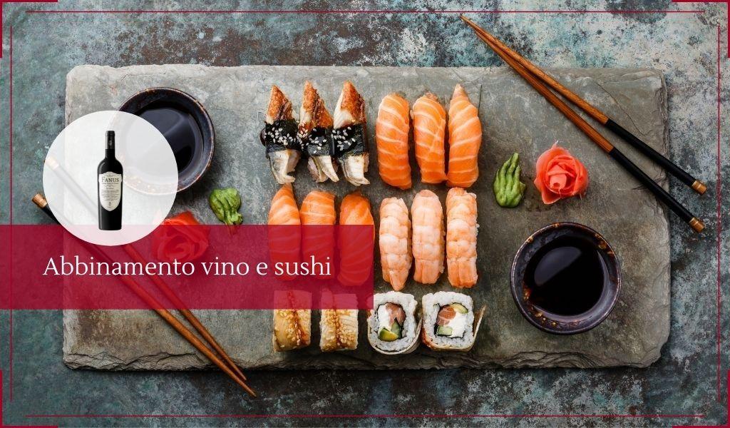 Consigli per il vino da abbinare al sushi - Cantine Gulino